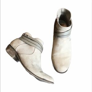 DV by Dolce Vita Gray Booties Boots
